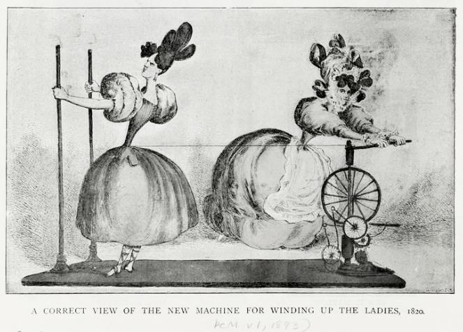 История возникновения корсета