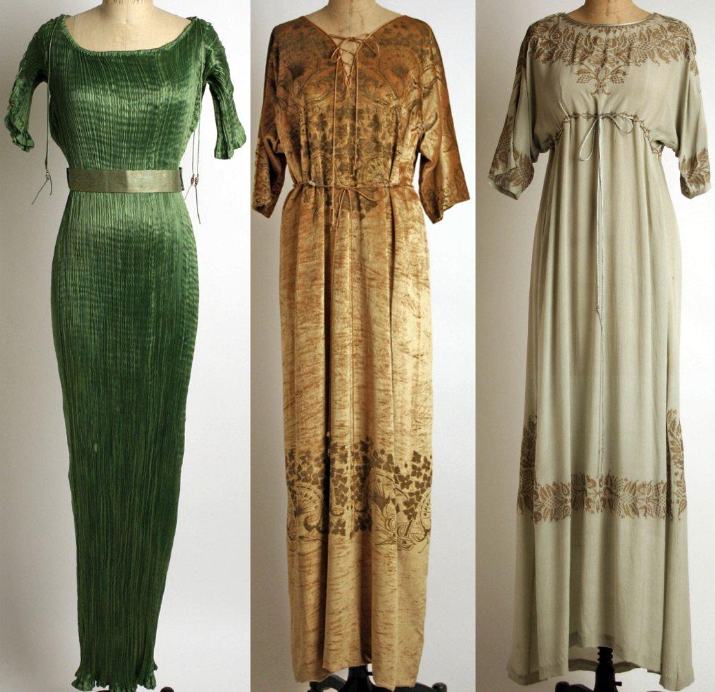 Мода начала прошлого столетия