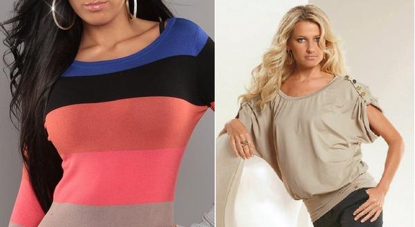 Как скрыть широкие плечи при помощи одежды