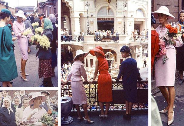 Мода 40х - 50х годов прошлого столетия