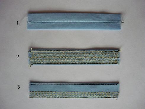Как сделать шлёвки