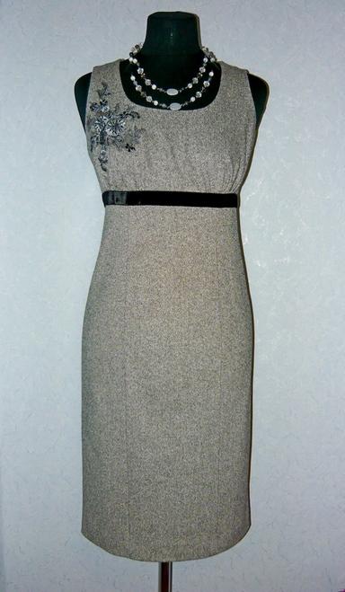 Аппликации на платье