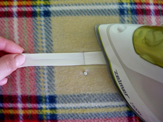 Как сделать косую бейку