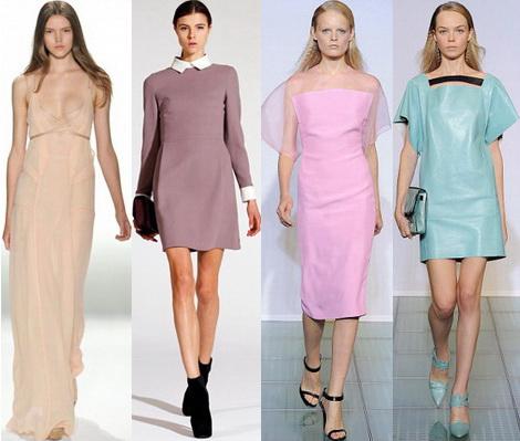 Платье стиль минимализм
