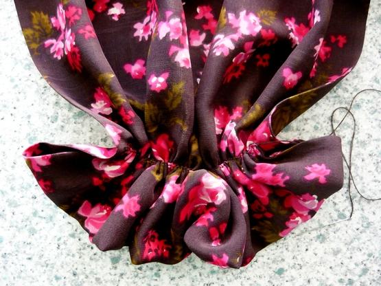 Шейный платок своими руками