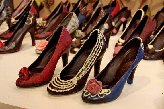 Съедобная обувь из продуктов питания