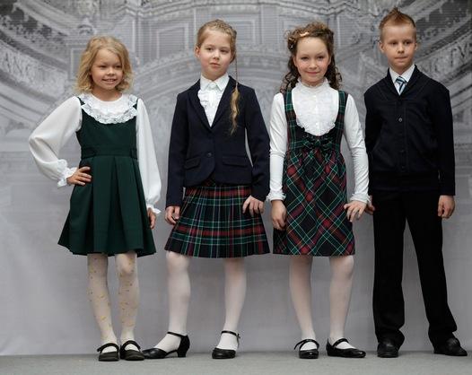 Как одеть ребенка в школу