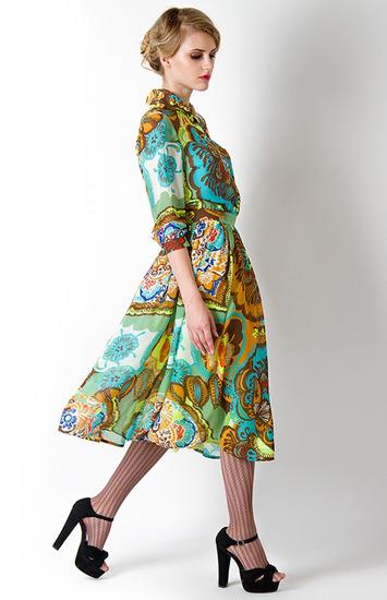 Платье в стиле 70 х фото