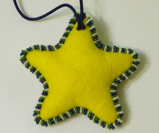 Рождественская  звезда  своими  руками