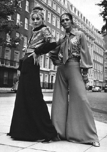 Вещи в стиле 70 – х годов в современном гардеробе