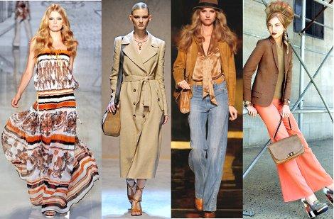 Вещи в стиле 70–х годов в современном гардеробе | Fusion of Styles