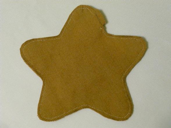 Звезды из ткани своими руками