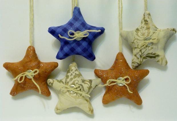 Звезда своими руками из ткани