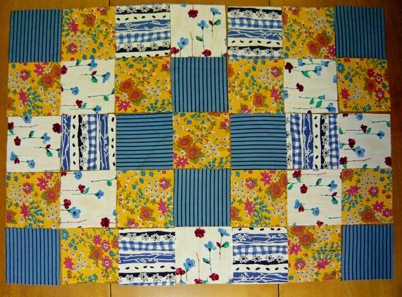 Детское одеяло в стиле пэчворк