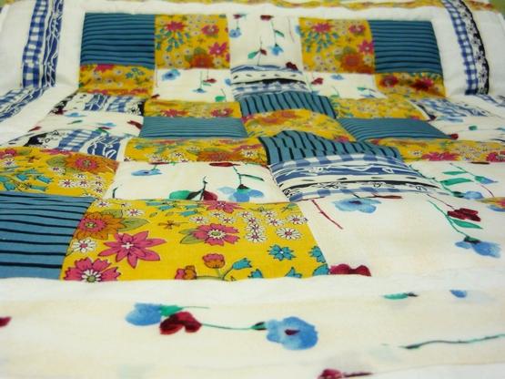 Детское одеяло в стиле пэчворк как сшить