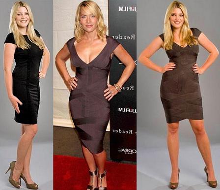 Особенности бандажного платья
