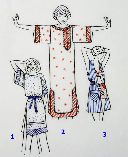 Выкройка платья - туники для женщин