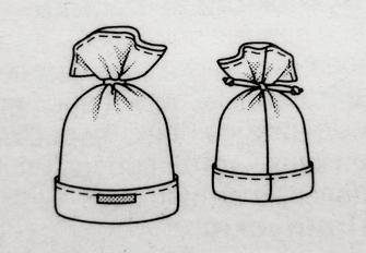 Детская шапочка из флиса