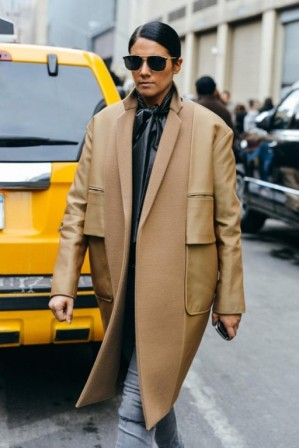Вещи в мужском стиле. Пальто бойфренда