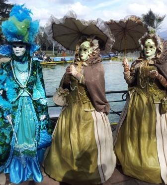Венецианский карнавал в Анси