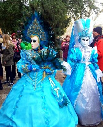 Венецианский карнавал в Анси 2015
