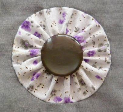 Декоративные цветы в технике йо-йо
