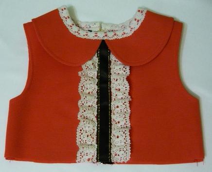 Платье из трикотажа для девочки