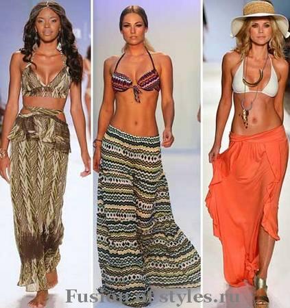 Как выбрать длинную летнюю юбку по типу фигуры