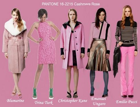 Модные цвета осень зима 2015
