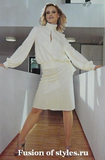Романтическая женская блуза большого размера из шелка