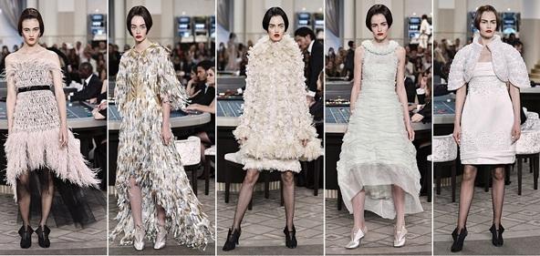 Показ Chanel осень зима 2015 2016 годов в Париже