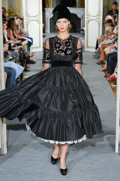 Русский стиль Юлии Яниной и её коллекция осень зима 2015 2016 года