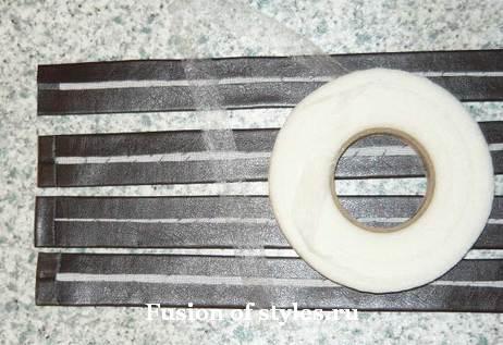 Замена ручек на сумке из кожзаменителя