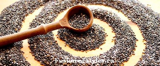Семена чиа и способы их применения