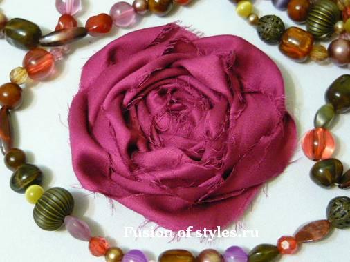 Цветок в стиле бохо