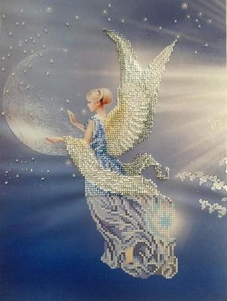 Вышитая бисером картина «Ангел согласия»