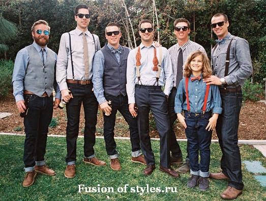 Свадьба в винтажном стиле