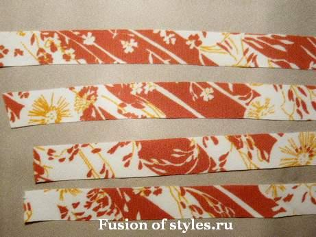 Декоративный цветок своими руками,цветок из ткани