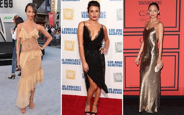 Бельевой стиль в одежде,платье-комбинация
