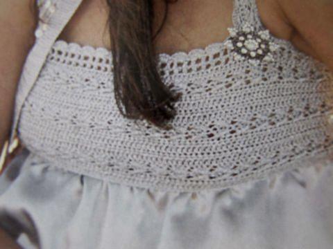 Летние платья из ткани и пряжи