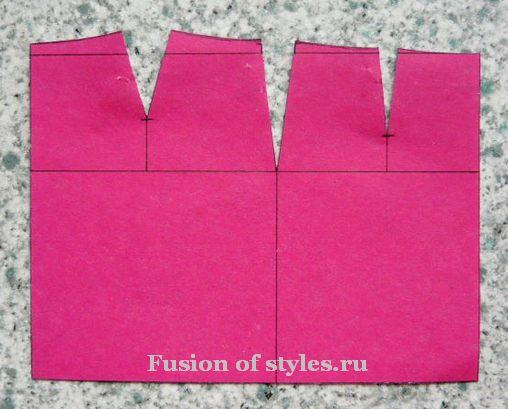 Построение основы прямой юбки,выкройка прямой юбки