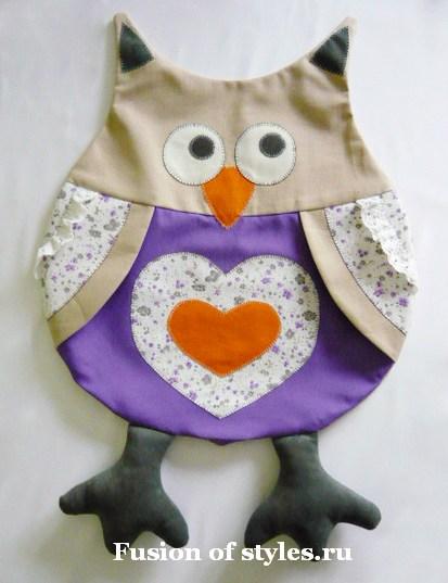 Подушка сова своими руками