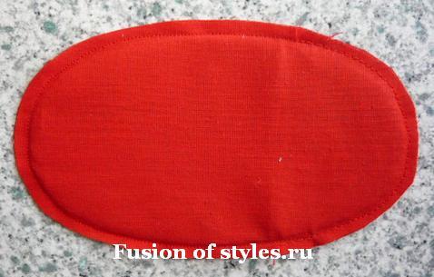 Пасхальная курочка - корзинка для яиц из ткани