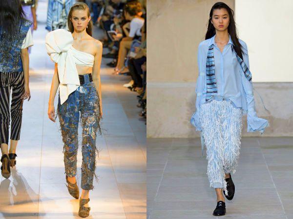 Бахрома в одежде и аксессуарах – тренд этого летам