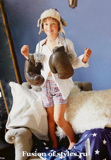 Детские шорты на резинке для мальчика
