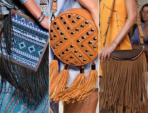 Бахрома в одежде и аксессуарах – тренд этого лета