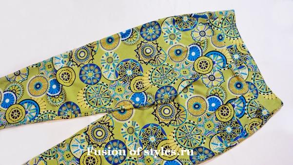 Пошив пояса - кокетки на женских брюках
