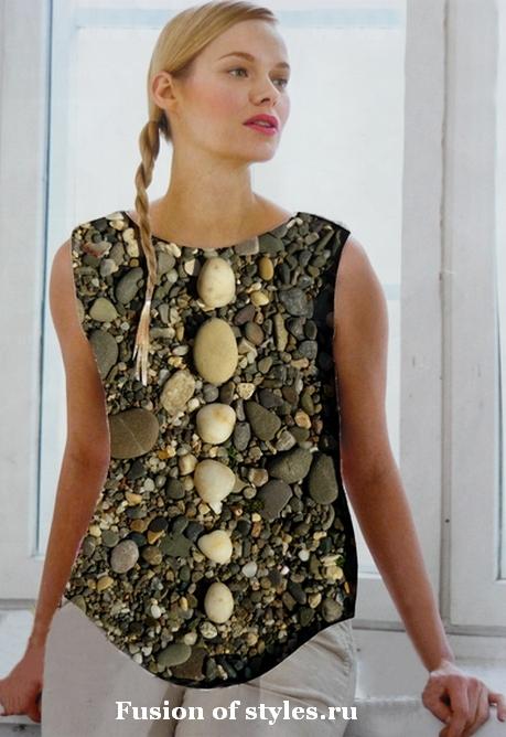 Идеи фотоколлажей для создания одежды