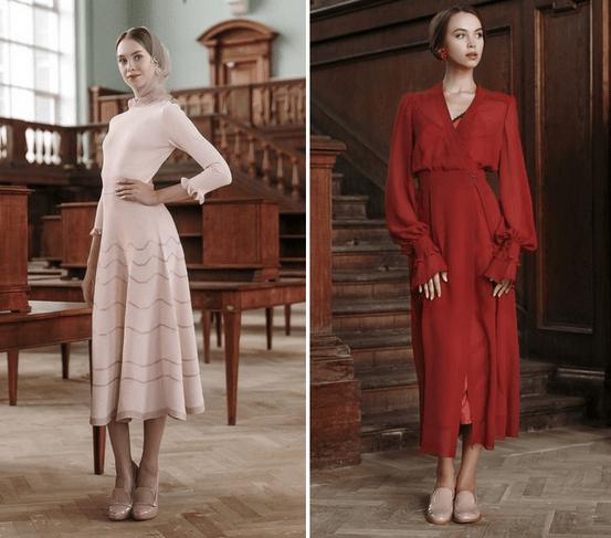 Лукбук новой коллекции Ulyana Sergeenko Demi-Couture осень - зима 2016