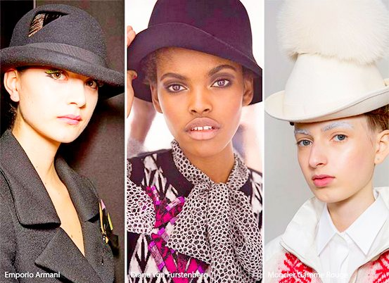 Модные женские шляпы осенью 2016 года
